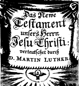Neue Testament Luther 1673